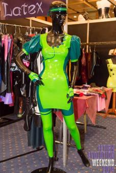 "Latexkleid ""Kinky Summer Green"""