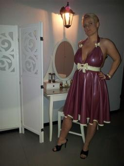 "Baby Doll-Latexkleid ""Marilyn"""