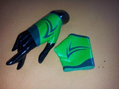 "fingerlose Handschuhe ""Kinky Summer Green"""